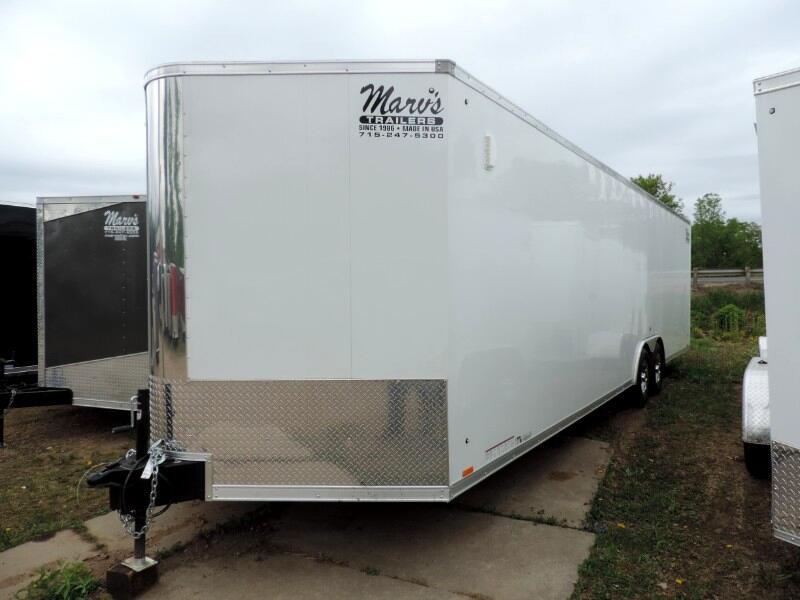 "2020 Pace American Cargo Sport 8.5'X28'+30""V Enclosed Cargo Trailer"