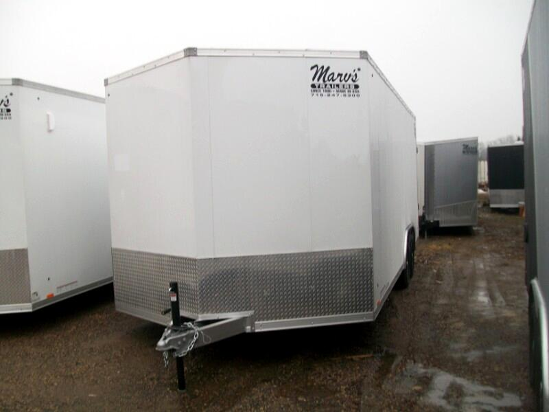 "2020 Pace American Elite 8.5'X20'+30""V All Aluminum Enclosed Car Hauler"