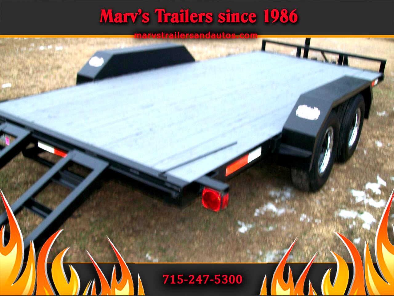 Car Hauler Full Wood Deck  1995