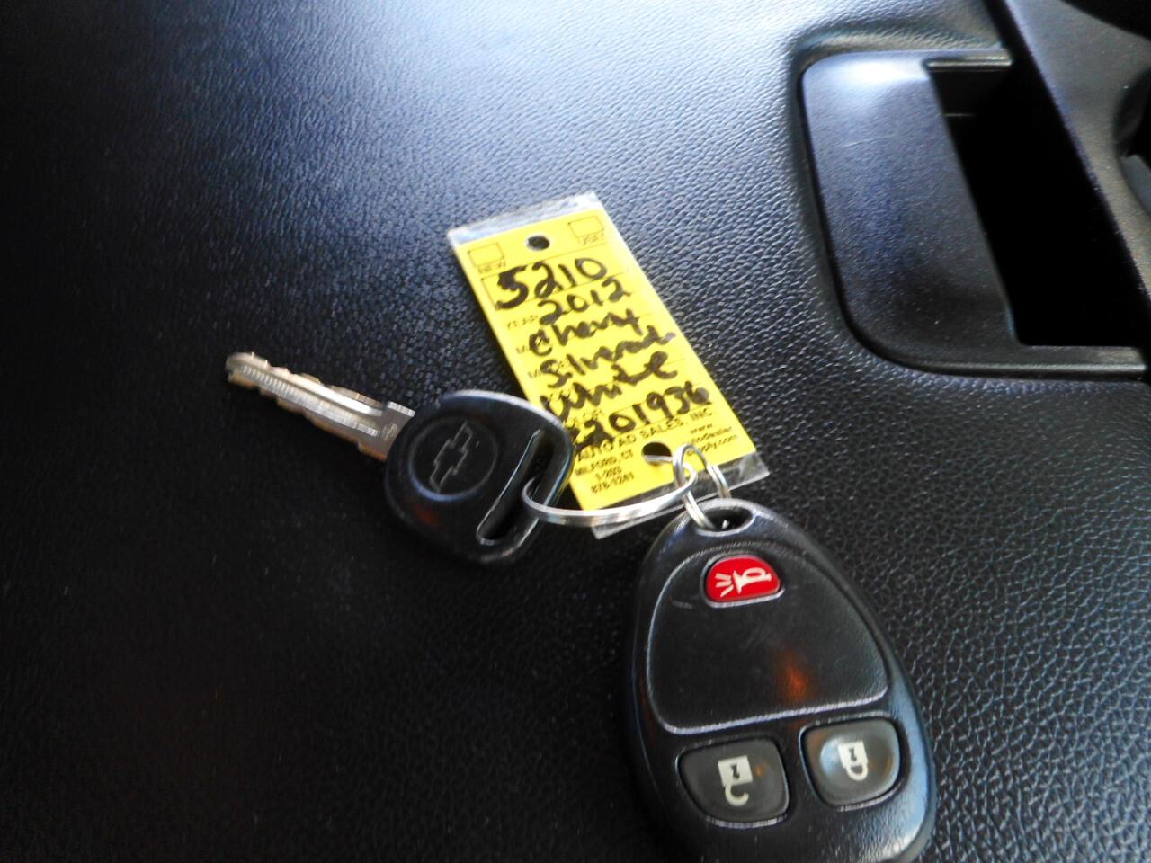 2012 Chevrolet Silverado 1500 LT Ext. Cab 4WD