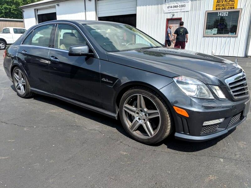 2010 Mercedes-Benz E-Class E63 AMG Sedan