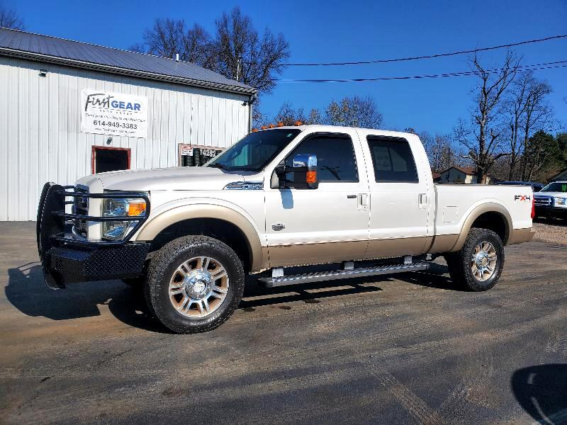 Ford F-350 SD King Ranch Crew Cab 4WD 2011
