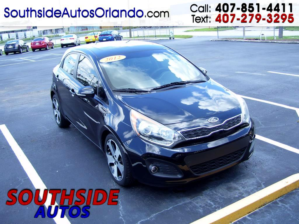 2012 Kia Rio 5dr HB Auto SX GDI