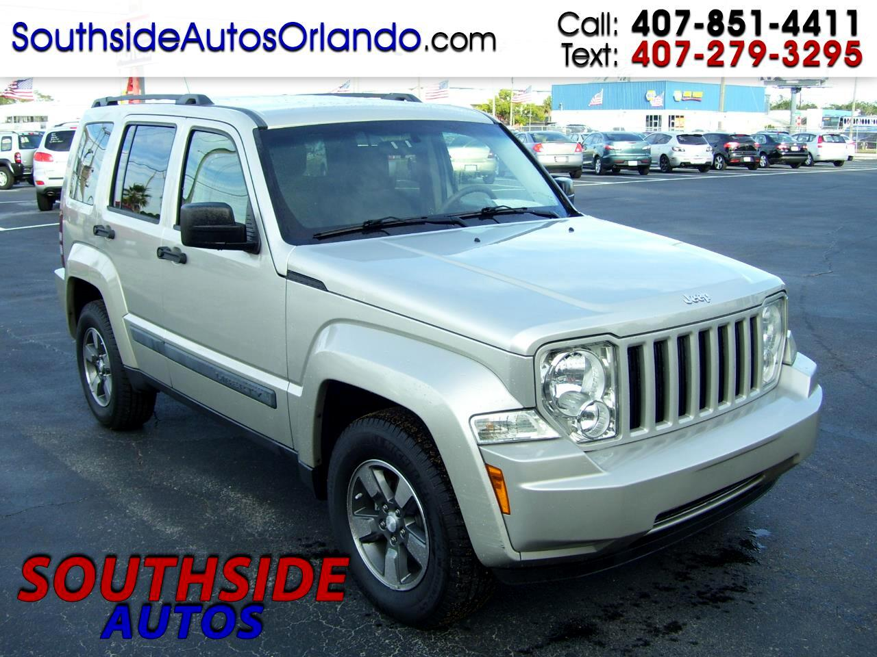 2008 Jeep Liberty RWD 4dr Sport