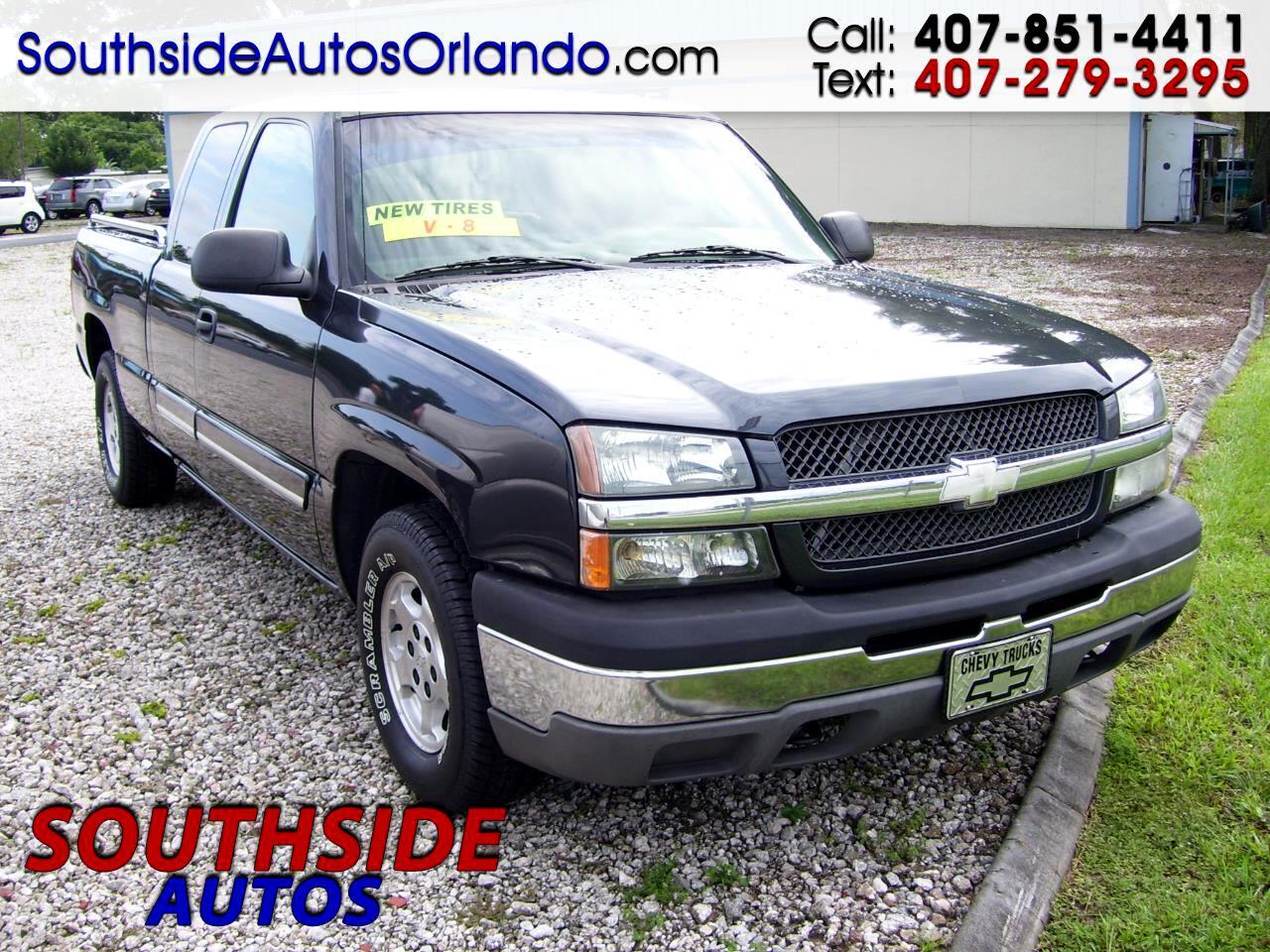 2003 Chevrolet Silverado 1500 LS Ext. Cab 4-Door Short Bed 2WD