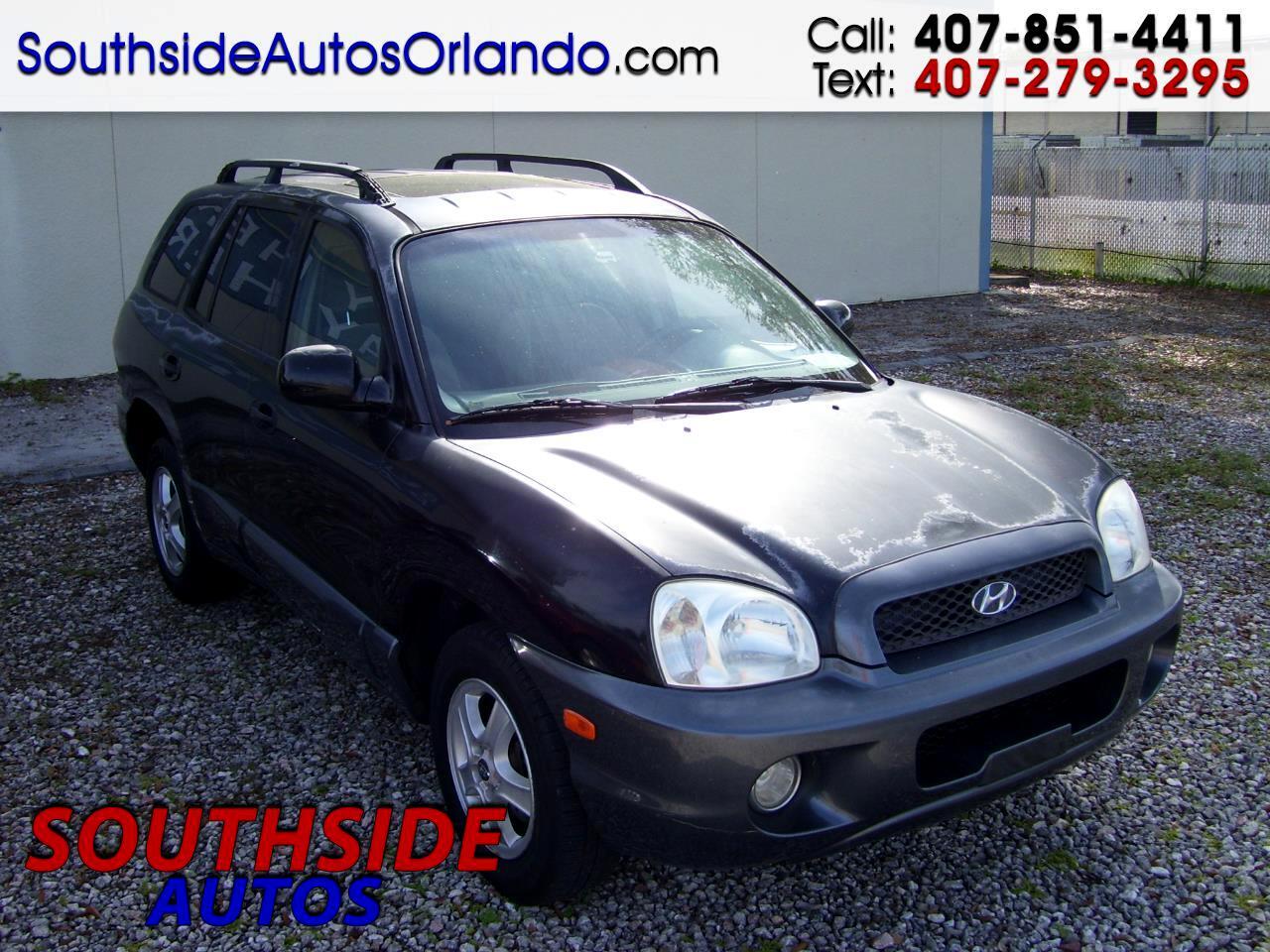 Hyundai Santa Fe GLS 3.5L 2004