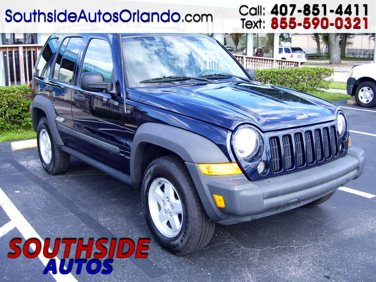 Jeep Liberty Sport 2WD 2007