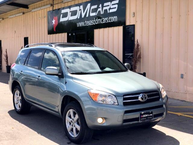 2008 Toyota RAV4 Limited I4 2WD