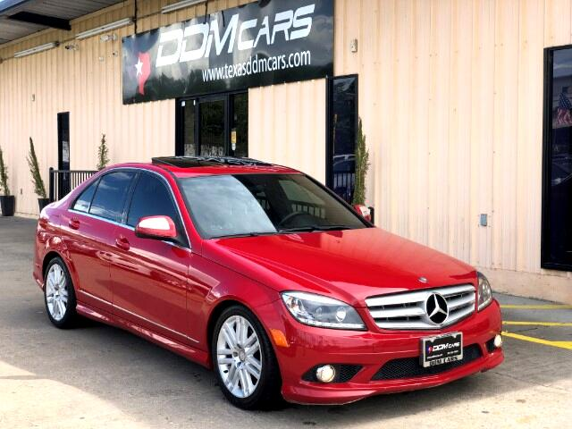 2009 Mercedes-Benz C-Class C300 4MATIC Sport Sedan