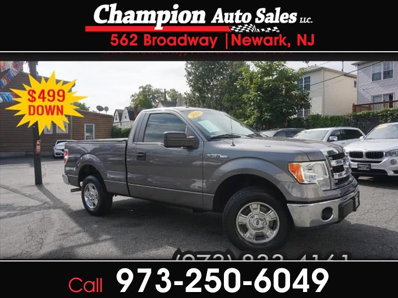 2014 Ford F-150 XLT 8-ft. Bed 2WD