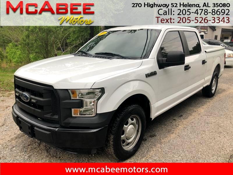 "2016 Ford F-150 2WD SuperCrew 145"" XL"