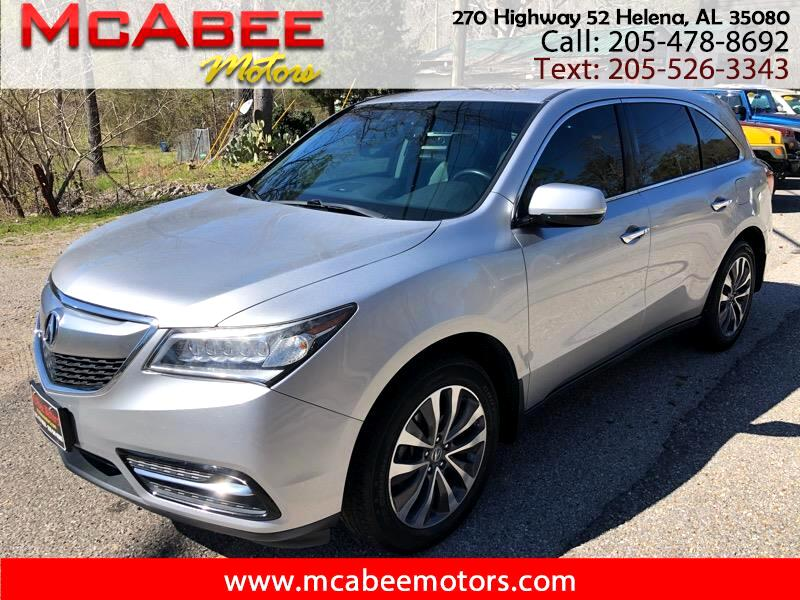 Acura MDX Tech Package 2015