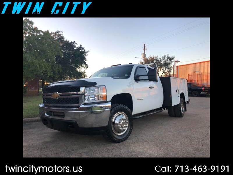 2012 Chevrolet Silverado 3500HD Work Truck Ext. Cab Long Box 2WD