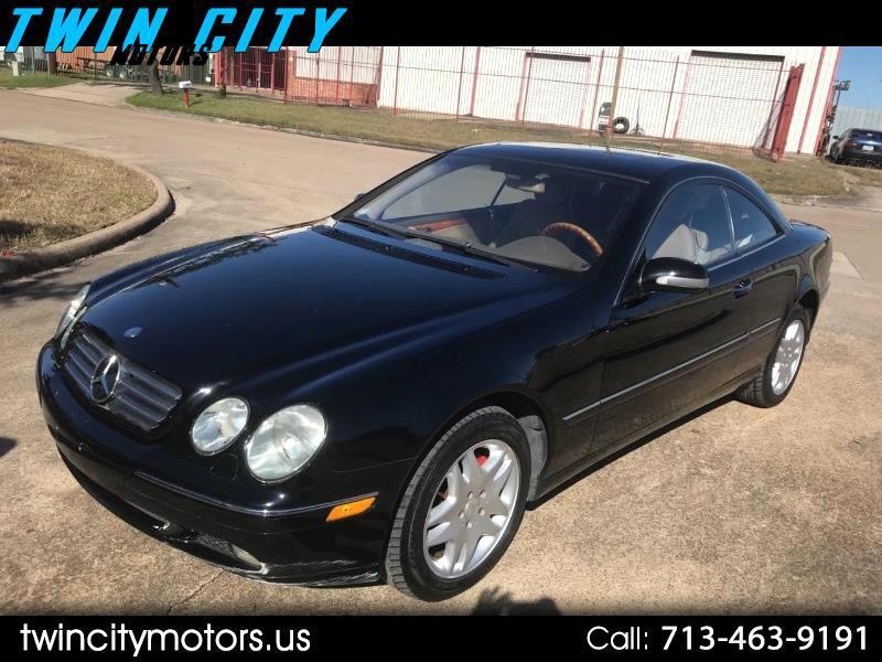 2002 Mercedes-Benz CL-Class CL500
