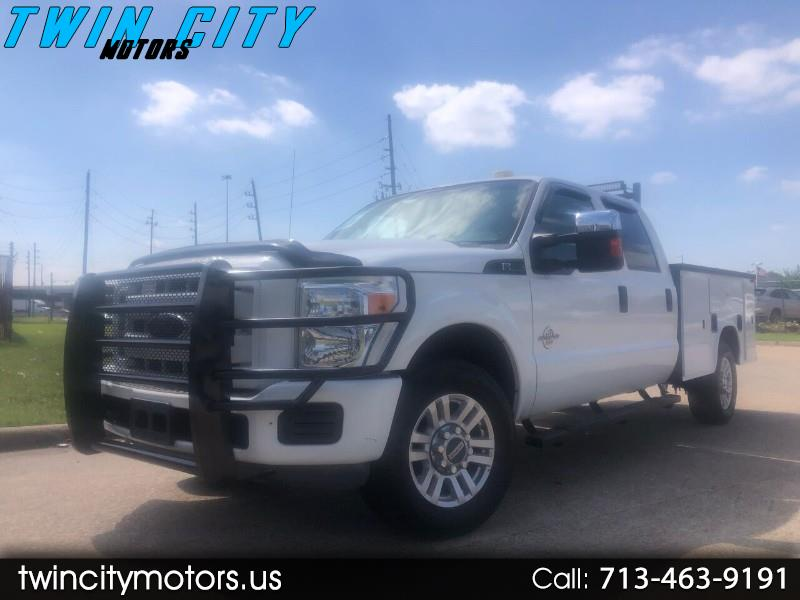 Ford F-350 SD XL Crew Cab 2WD 2012
