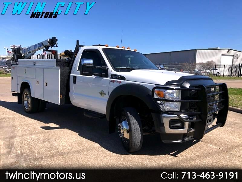 Ford F-550 Regular Cab DRW 4WD 2016