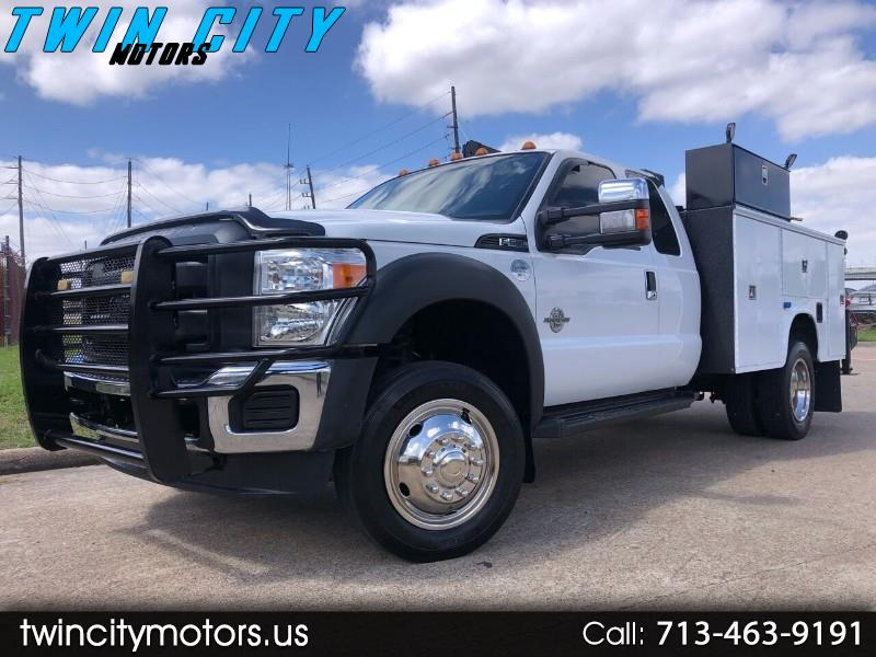 Ford F-550 SuperCab DRW 4WD 2012