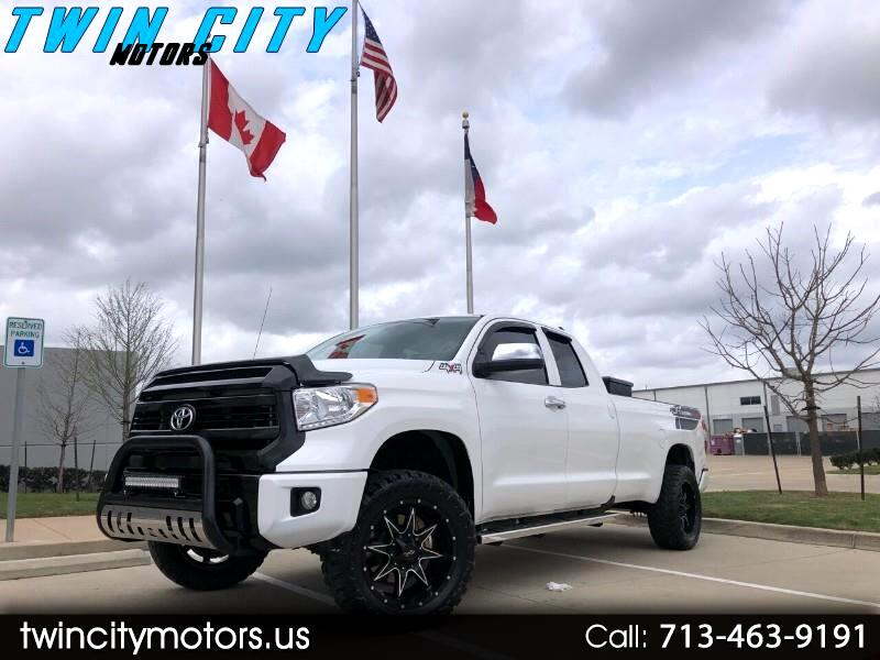 Toyota Tundra SR5 5.7L V8 FFV Double Cab 4WD Long Bed 2015