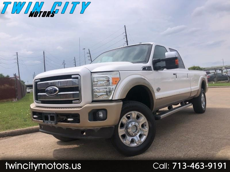 Ford F-350 SD King Ranch Crew Cab Long Bed 4WD 2011