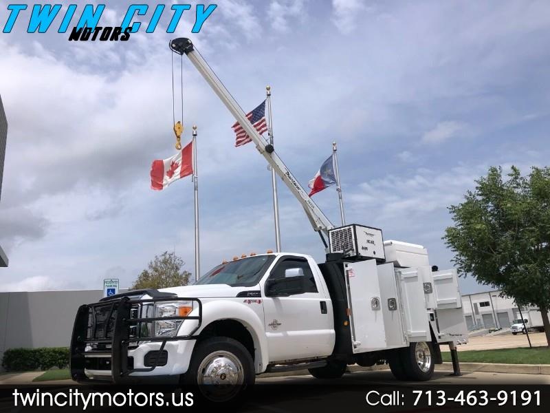 Ford F-550 Regular Cab DRW 4WD 2012