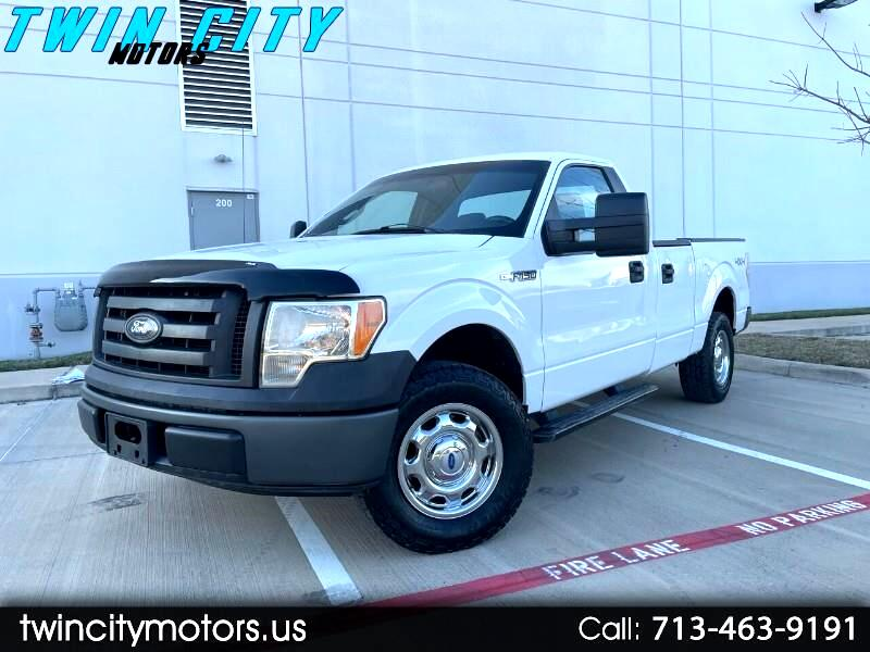 Ford F-150 XL 8-ft. Bed 4WD 2011