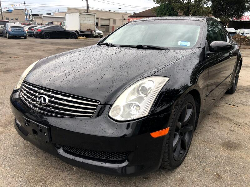 2007 Infiniti G35 Coupe with Leather