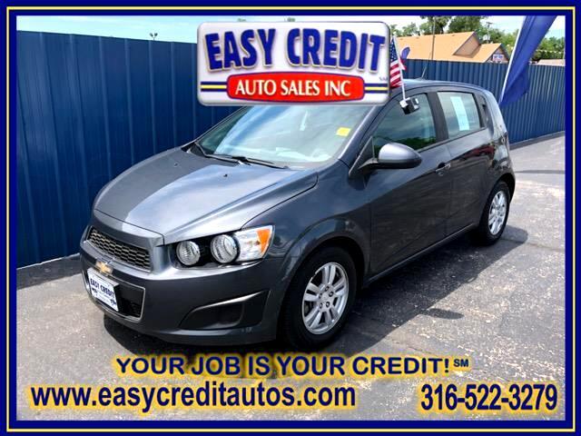 2012 Chevrolet Sonic 2LS 5-Door