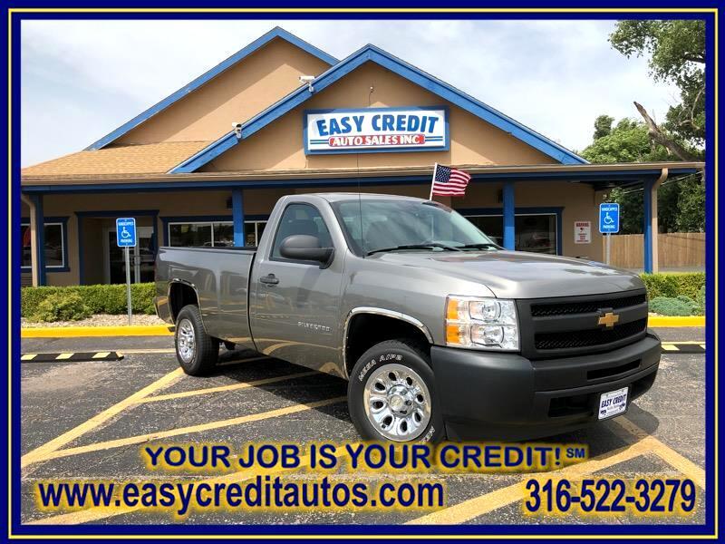 """Chevrolet Silverado 1500 2WD Reg Cab 133.0"""" Work Truck 2013"""