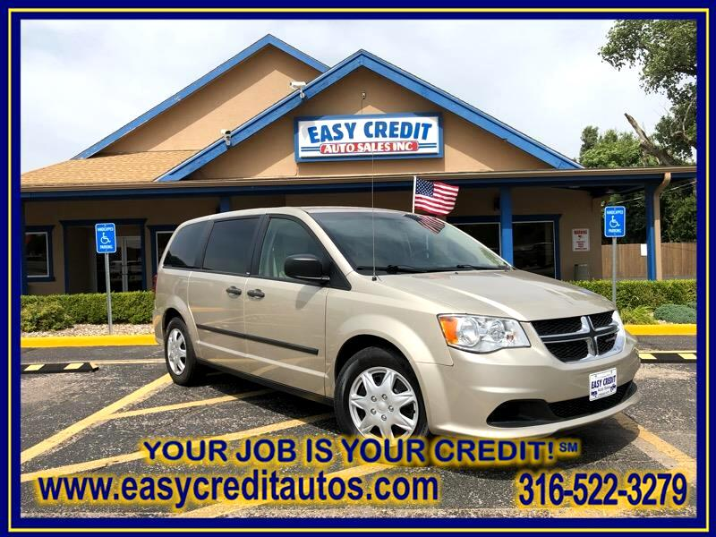 Dodge Grand Caravan 4dr Wgn American Value Pkg 2014