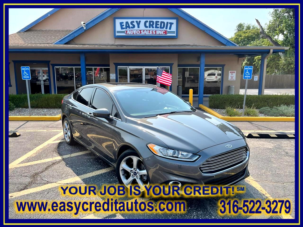 Ford Fusion 4dr Sdn S FWD 2016