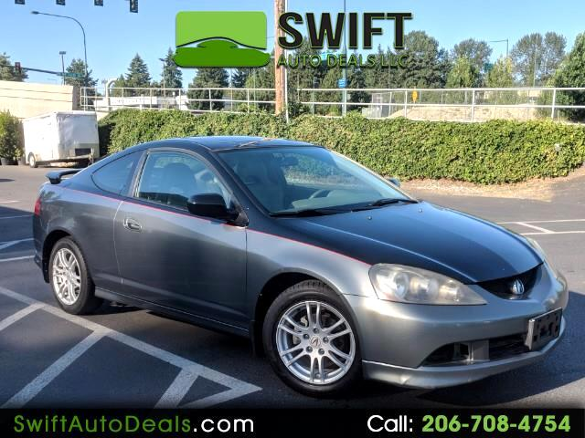 2005 Acura RSX Coupe with 5-speed AT