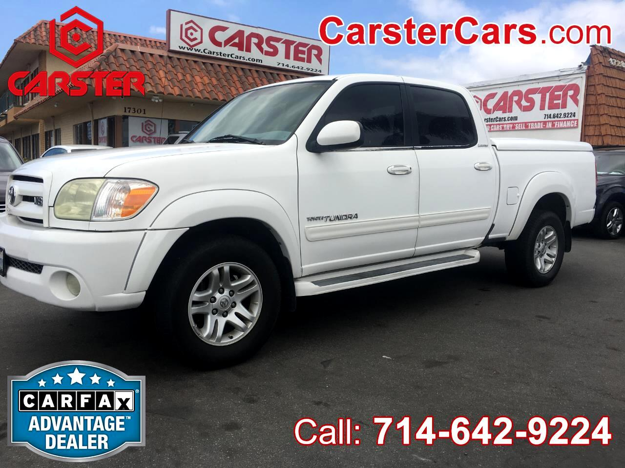 2005 Toyota Tundra Limited Double Cab 2WD