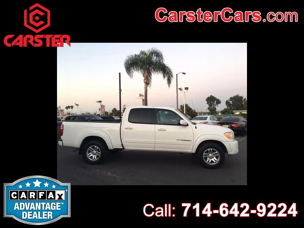 2005 Toyota Tundra Limited 4dr Double Cab RWD SB V8