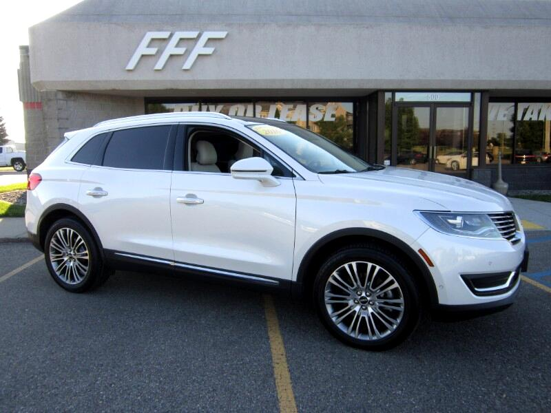 Used 2016 Lincoln Mkx Reserve Awd For Sale In Fargo Nd 58103 Ff