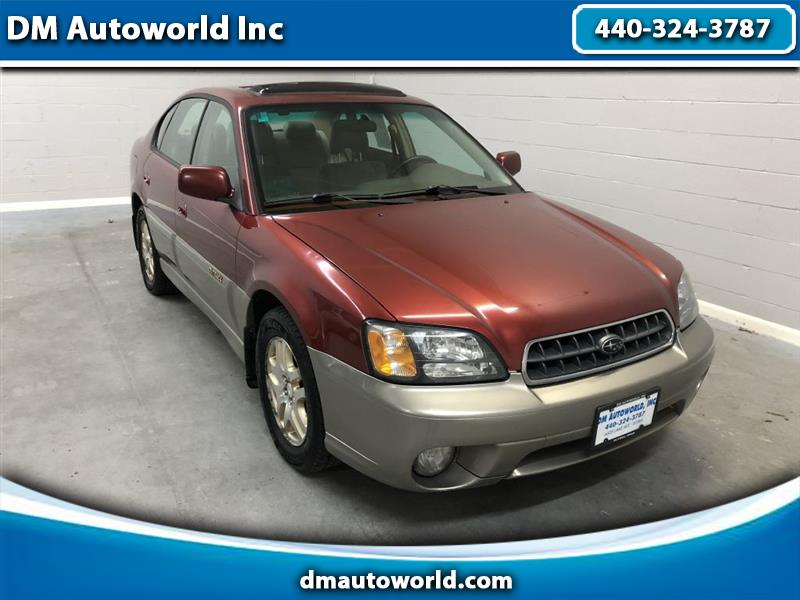 2003 Subaru Outback Limited Sedan