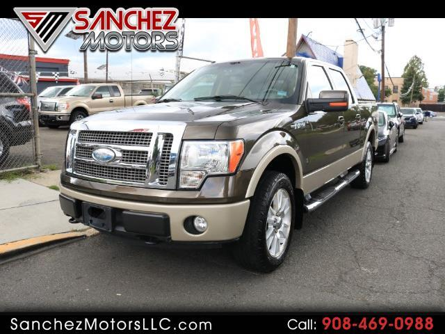 "2009 Ford F-150 SuperCrew 150"" Lariat 4WD"