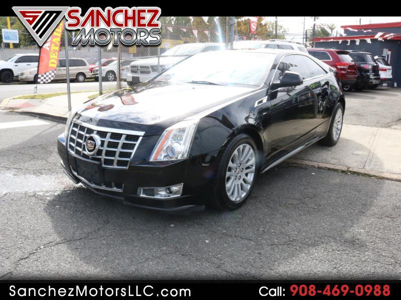 2013 Cadillac CTS Performance Coupe AWD