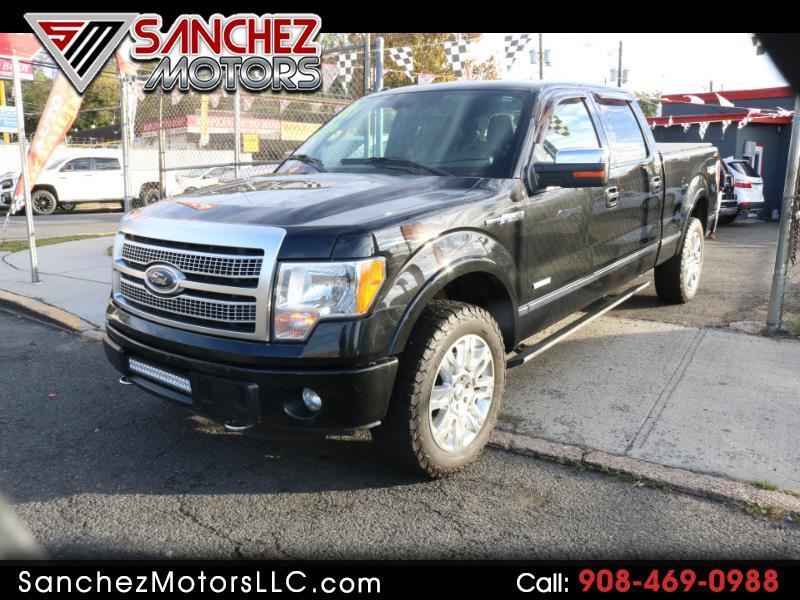 Ford F-150 Platinum SuperCrew 6.5-ft. Bed 4WD 2012