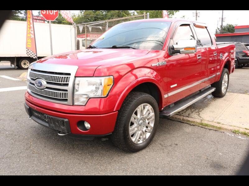 Ford F-150 Platinum SuperCrew 5.5-ft. Bed 4WD 2012