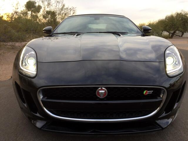 2015 Jaguar F-Type V8 S Convertible