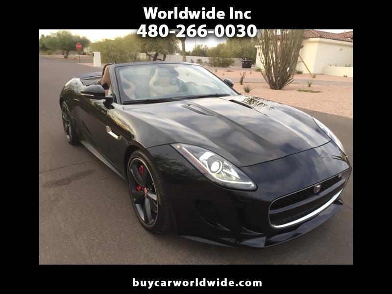 Jaguar F-Type V8 S Convertible 2015