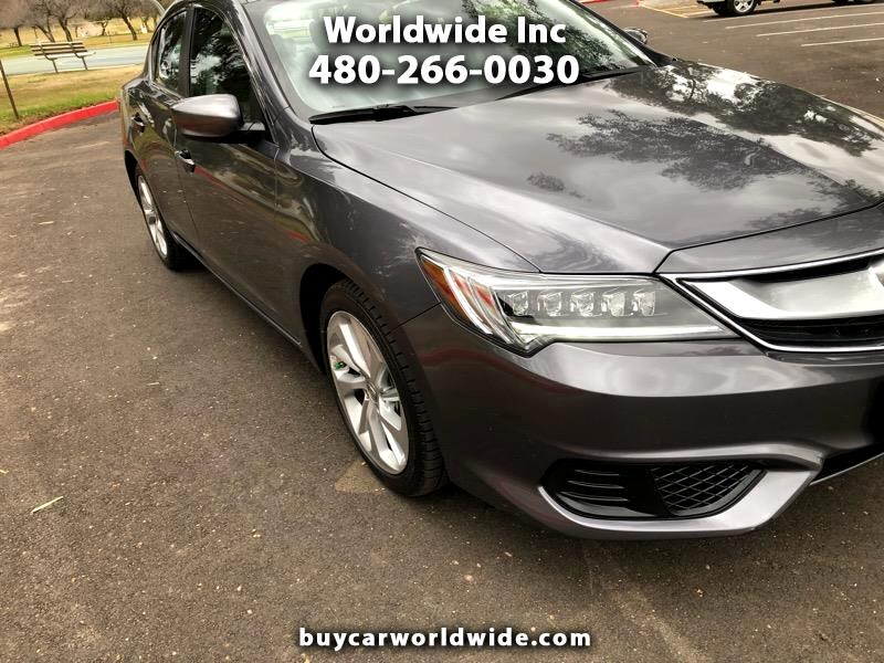 Acura ILX 8-Spd AT w/ AcuraWatch Plus Package 2017