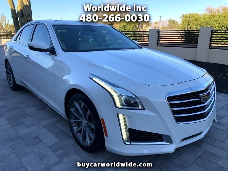 Cadillac CTS 2.0L Turbo Luxury RWD 2016