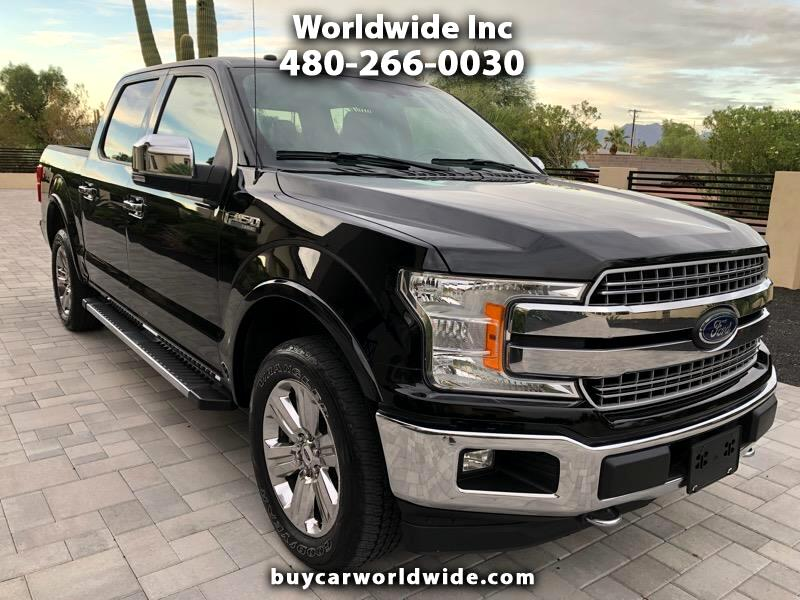Ford F-150 Lariat SuperCrew 5.5-ft. Bed 4WD 2018