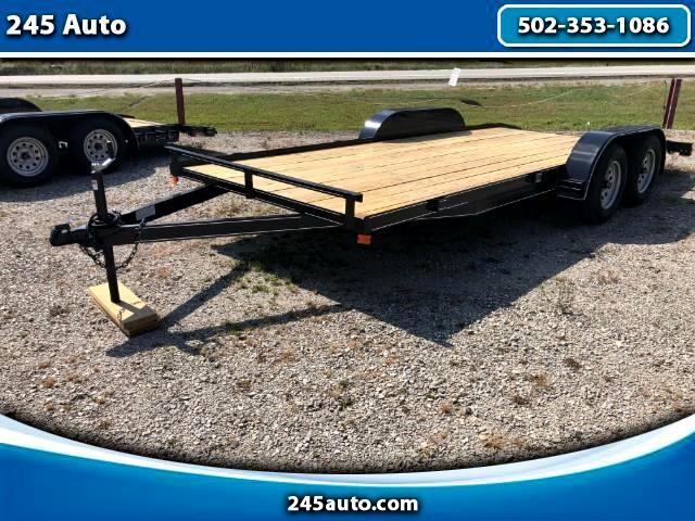 2018 Car Hauler Full Wood Deck