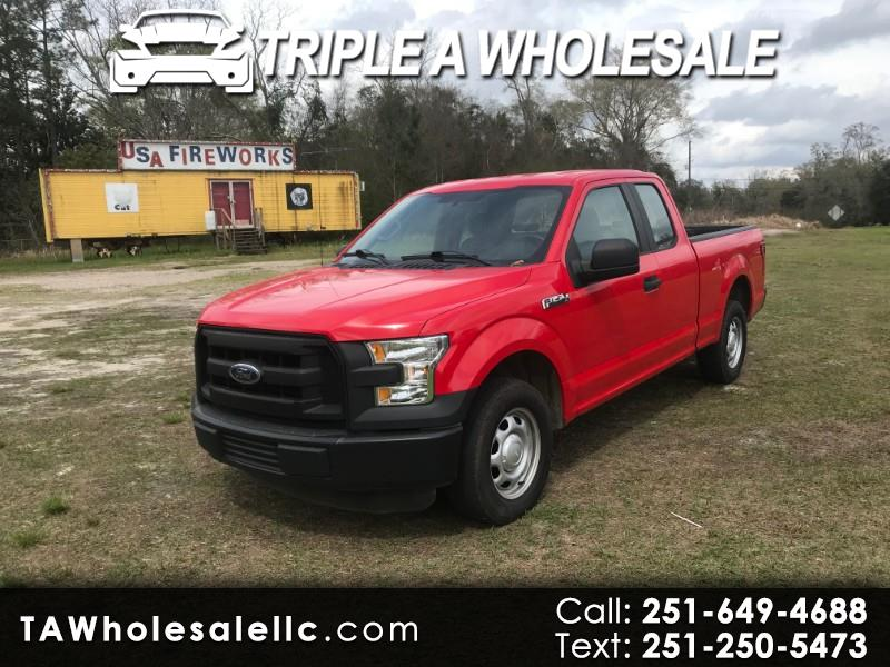 2016 Ford F-150 XL SuperCab 8-ft. 2WD