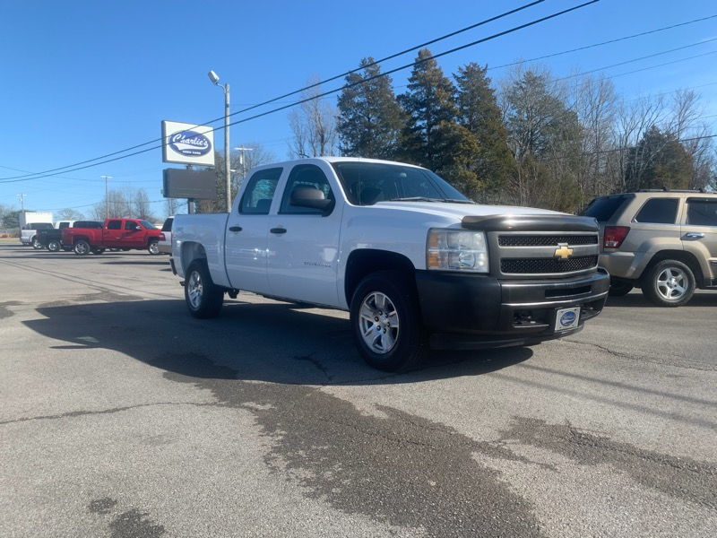 Chevrolet 1500 Work Truck Crew Cab Short Box 4WD 2011