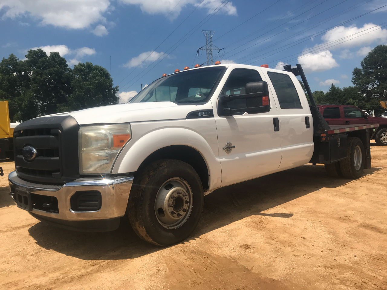 2013 Ford F-350 SD XL Crew Cab Long Bed DRW 2WD