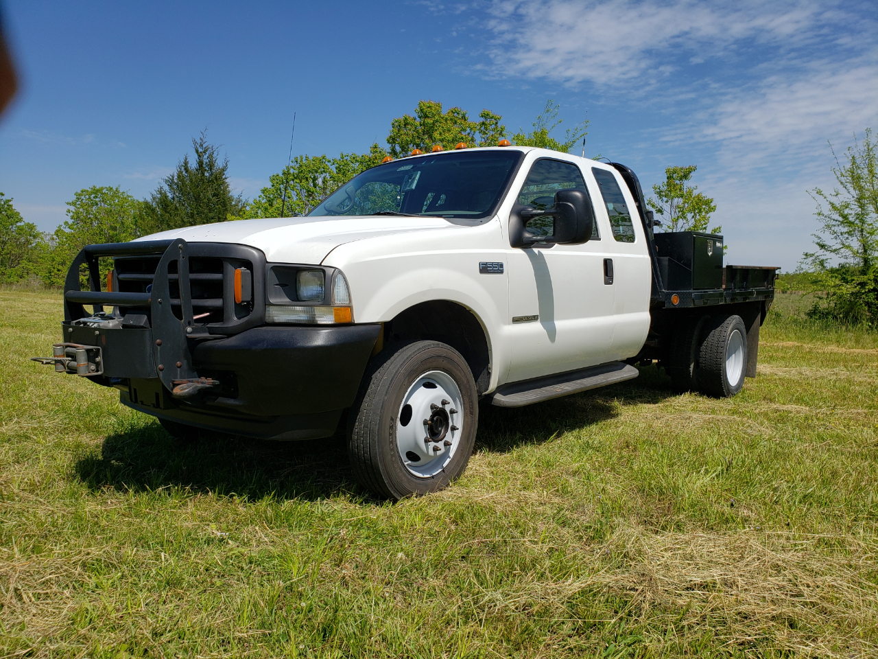 Ford F-550 SuperCab 4WD DRW 2002