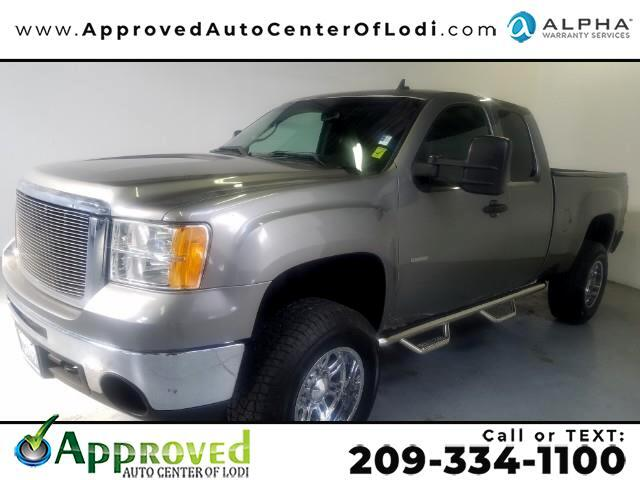 2008 GMC Sierra 2500HD Work Truck Ext. Cab Std. Box 4WD